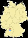 Wohnort auf Landkarte